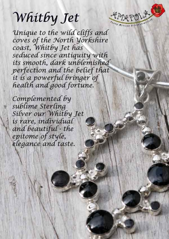 Whitby Jet A4 Display Sign
